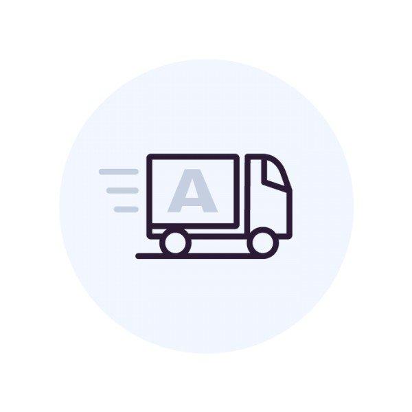 Доставка оборудования в  удалённые районы (без установки)
