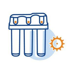 Настройка контроллера в  фильтрах: Water Boss/Water Мах, фильтрах колонного типа и системах ультрафильтрации